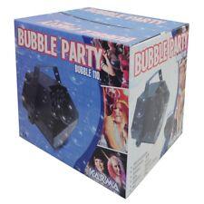 KARMA BUBBLE 110 macchina per bolle di sapone bubble machine x feste karaoke