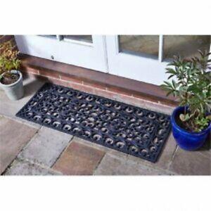 Smart Garden Classic Rubber Cast Iron Effect Door Mat 45 x 120cm