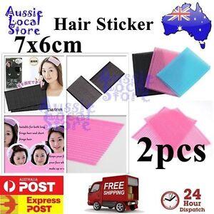2 pcs Hair Fringe Grip Pad Sticker Holder Stabilizer Makeup Washing Face