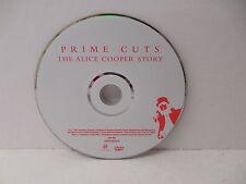 Alice Cooper Story DVD Prime Cuts  NO CASE Live Concert Performances Interviews
