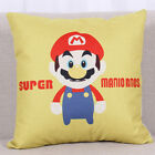 Super Mario Bros Cushion Cover Sofa Waist Throw Pillow Case Kids Room Home Decor