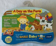 Vtech V Smile Baby Game Cartridge A Day On The Farm NEW!