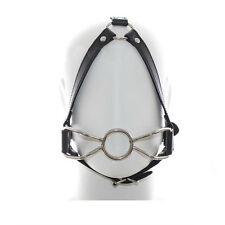 Adult Couples Strap Erotic Hoop Harness Plug Mouth Yoke Forced Open Oral Sex Toy