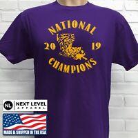 LSU TIGERS FOOTBALL 2019 NATIONAL CHAMPIONSHIP T-SHIRT