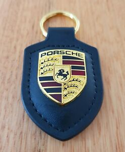 PORSCHE KEYRING PU Leather 911 356 924 928 944