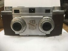 Revere Stereo 33 Synchro Prontor / 35mm f/3.5 Vintage Camera .Untested