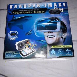 Sharper Image Smartphone 360 Virtual Reality Headset G210