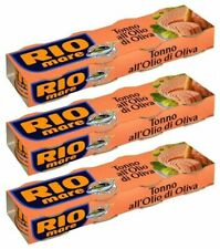 12 cans of Rio Mare Tuna in Olive Oil 80g (From Italy)