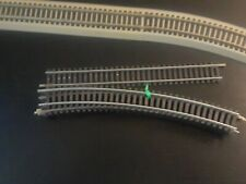 Tyco Set Of 6 Ho Scale Track / Total of 5 -18 Radius Curves And 1 Straight