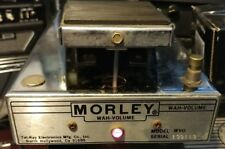 Vintage Morley Tel-Ray Electronics WVO Wah / Volume Effect Pedal.Serial # 139113