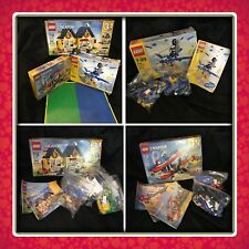 3 100% Complete Lego Sets - Boxes & Instructions - Storage Case With Extra's