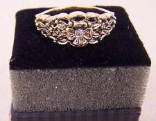 "New AVON Jewelry - ""Filigree Floret Ring"" Size 10 NIB Goldtone"