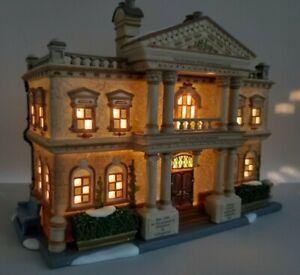 Dept 56 Dickens' Village-Hickman Well's Gentlemen's Club #58743 New Retired💖