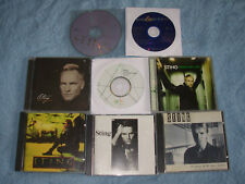 Lot 9 Sting cds Turtles/Day/Sacred/Tales/Nothing/Mercury/Cages/VeryBest /Labryn
