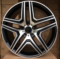 "4x 20 Pulgadas Llantas para Mercedes Benz Clase G W460 W461 W463 ET50 9.5J 20"""