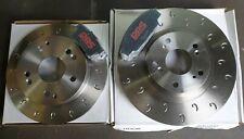Civic Type R EP3 01-05 Performance MTEC C Hook Brake Discs Pads PBS Track Kit