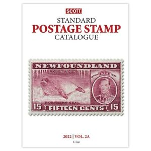 CKStamps : 2022 Scott Standard Postage Stamp Catalogue - Volume 2A & 2B (C-F)