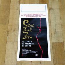 SEX AND ZEN IL TAPPETO DA PREGHIERA DI CARNE locandina poster Lawrence Cheng U73