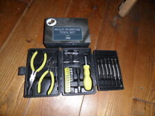 NEW: Multi-Purpose Tool Kit in Storage Box 26 Pieces - TESCO - Great Gift Idea!