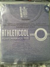 Blue Star Athletic Cool mans crew neck performance t shirts Nwt size xl total 2