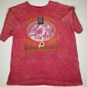 Vintage Washington Redskins Throwbacks T-shirt L Nutmeg NFL Collection Football