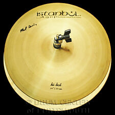"Istanbul Agop Mel Lewis Hi Hat Cymbals 14"" 836/1020 grams - VIDEO - ML14"