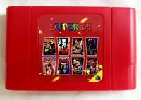 340 in 1 Super Collection N64 Multi pack Cartridge USA Seller Nintendo 64