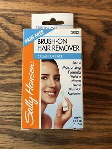Sally Hansen BRUSH-ON Hair Remover 1.7oz CREME for Face #2082