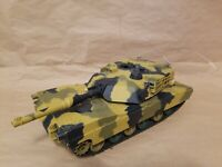 Hen Long RC BATTLE TANK 1/24 Scale Real Action R/C - TANK ONLY FOR PARTS/REPAIR