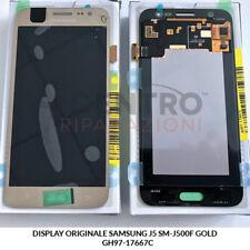 DISPLAY LCD TOUCH SCREEN ORIGINALE SAMSUNG GALAXY J5 2015 SM-J500F GOLD ORO
