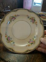 Noritake Fine China Elaine 1 Plate 7 3/4 inches across Flowers