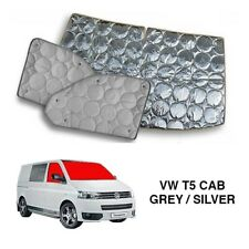 VW T5 Thermal Blinds/Screens Internal Windscreen Cover (3 Piece)