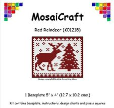 MosaiCraft Pixel Craft Mosaic Art Kit 'Red Reindeer' Pixelhobby