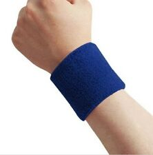 1 Sport WristBand Brace Wrap Cotton Gym Strap Running Sports Safety For Fitness