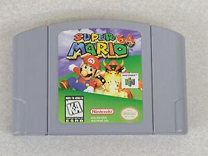 Super Mario 64 (Nintendo 64 N64, 1996) Original Cartridge Only