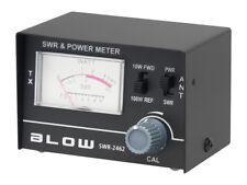 SWR-2462 SWR / WATT Meter 1,5 - 150 MHz /  0-10W / 0-100W