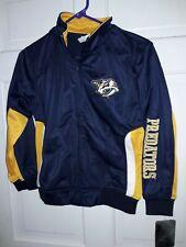 Nashville Predators Hockey NHL apparel track Jacket athletic coat NEW - Youth M