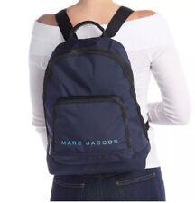 NWT $225 Marc Jacobs All Star Backpack Indigo Blue Nylon Bag