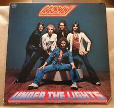 Moxy Under the Lights RARE original vinyl LP record '78