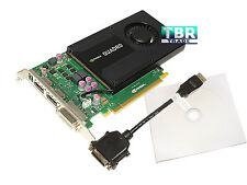 PNY NVIDIA Quadro K2000 2GB GDDR5 2.0 X16 DP DVI Workstation Video Graphics Card