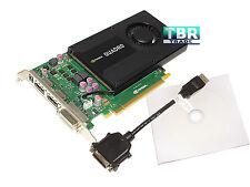 NVIDIA Quadro K2000 2GB GDDR5 2.0 X16 DP DVI Workstation Video Graphics Card