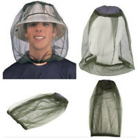 Unisex Fly Insect Bee  Face Protect Hat Net Anti-bite Veil Cap Mesh Hat FT