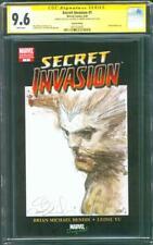 Wolverine 1 Secret Invasion CGC 9.8 SS Simone Bianchi Logan Film Sketch X Men 08