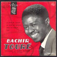 BACHIR TOURE LE TRAIN DE L'AMOUR Orchestre HUBERT ROSTAING 45T EP BIEM VEGA 1769
