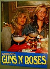 "8"" x 11"" Poster of Duff Mckagen and Steven Adler of Guns N Roses Gnr"