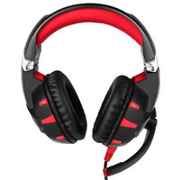 3.5mm Gaming Headset K2 LED Headphones For PC Laptop PS4 Slim Pro Xbox One ZM