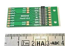 Platine pour loco non équipé digital pour decodeur PluX NEM 658 LaisDcc 860048