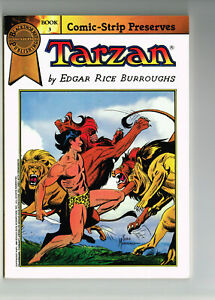 COMIC-STRIP PRESERVES #3 TARZAN BLACKTHORNE COMICS 1986 NM- MANNING ER BURROUGHS