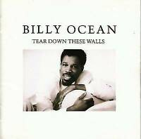 Tear Down These Walls by Billy Ocean (CD, 1988, Zomba (USA))