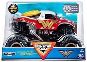 Hot Wheels Monster Jam Wonder Woman 1:24 Scale Diecast Car